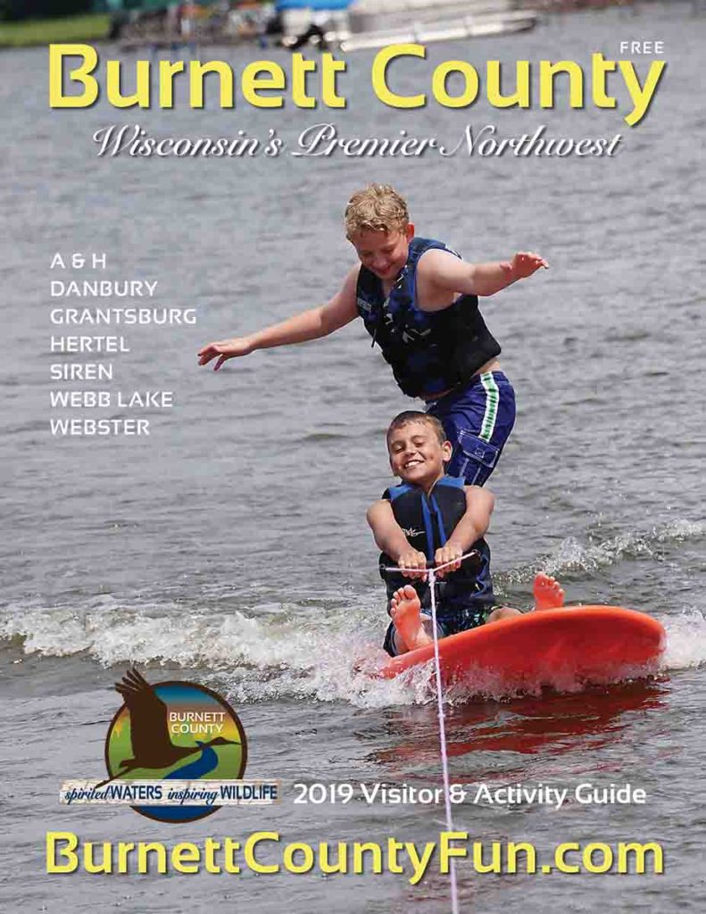 2019 Burnett County Guide & Map, WI