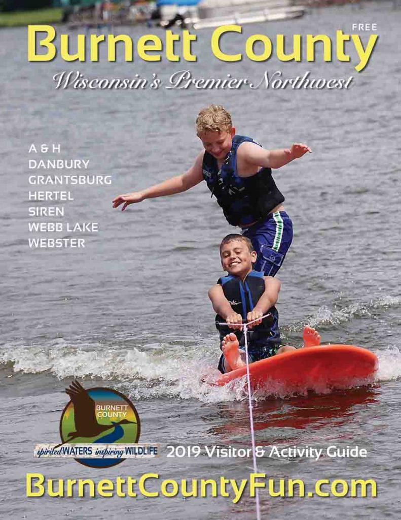 2019 Burnett County Guide & Map, WI