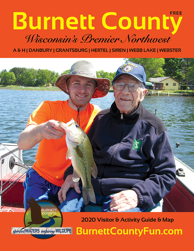 2020 Burnett County guide and map, WI