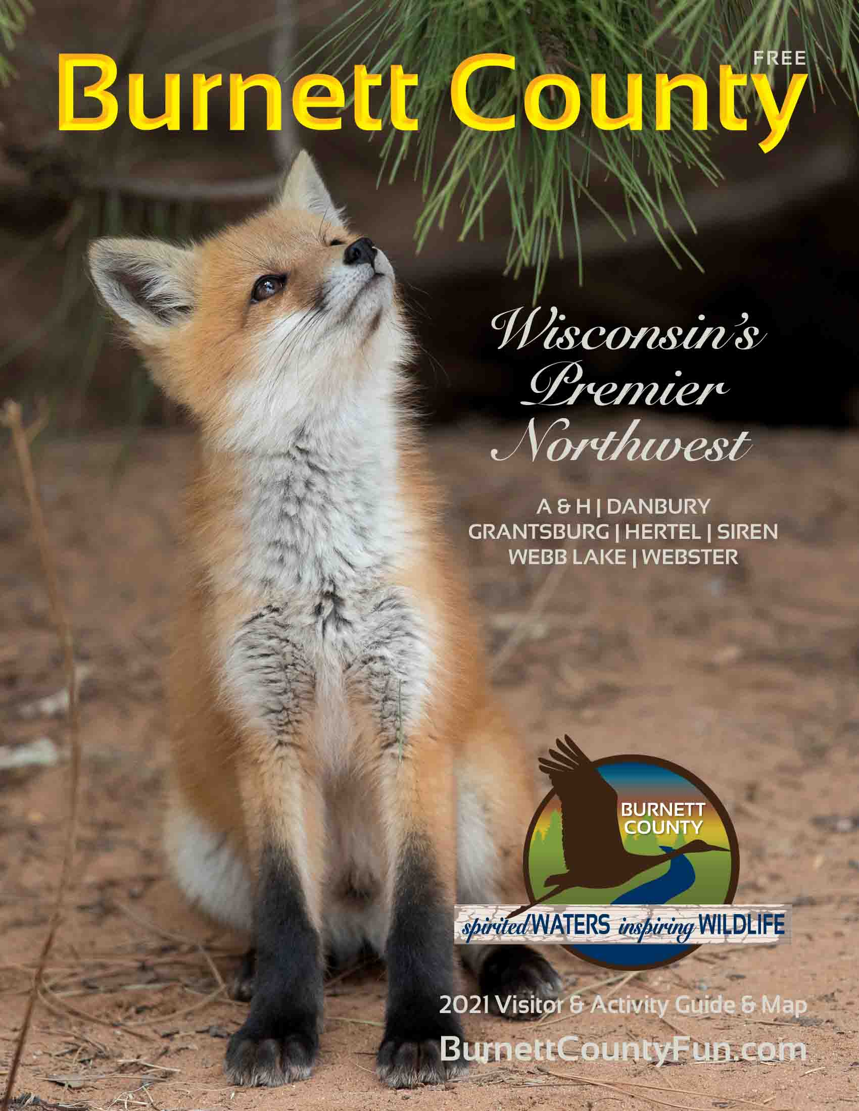 2021 Burnett County Guide and Map