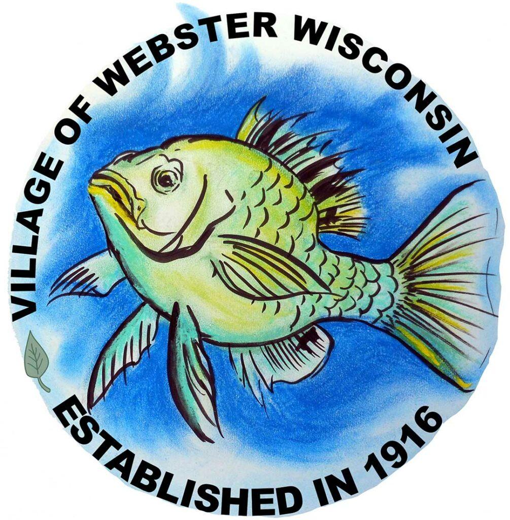 Webster, Wisconsin, sunfish logo